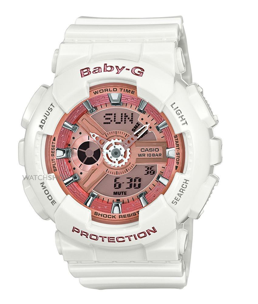 Afbeelding van Baby G horloge BA 110 7A1ER