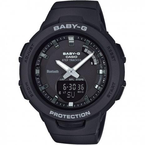 Afbeelding van Baby G Stepcounter Bluetooth Connected horloge BSA B100 1AER