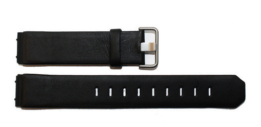 Jacob Jensen 800 serie 19mm zwart siliconen horlogeband