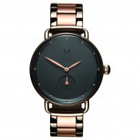MVMT D-FR01-TIRG RVS Rosegoudkleurig en bronskleurig Bloom Horloge 36mm 1