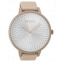 OOZOO Horloge Timepieces Collection 48 mm softpink C9522 1