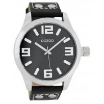 OOZOO C1054 Horloge Timepieces Collection 46 mm zwart  1