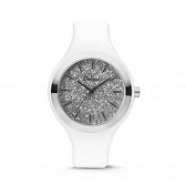 Colori Horloge Macaron siliconen wit 44 mm 5-COL518 1