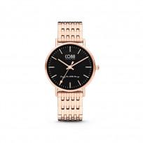 CO88 Collection 8CW 10074 Horloge - Stalen band - rosékleurig - Ø 36 mm 1