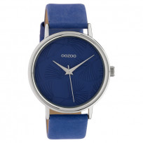 OOZOO C10394 Horloge Timepieces Collection blauw 42 mm 1