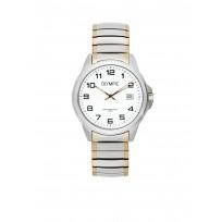 Olympic OL72HSS264B Phoenix Horloge Staal Zilverkleurig 38mm Heren 1