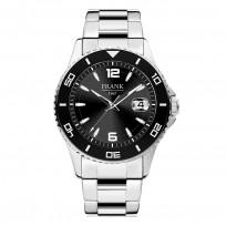 Frank 1967 7FW 0013 Horloge staal zwart-zilverkleurig 44 mm 1