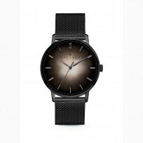 Kaliber 7KW 0011 Horloge met Meshband Ø40 mm zwart-zilverkleurig 1