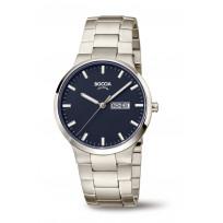 Boccia 3649-02 Horloge Titanium Saffierglas Blauw 39 mm 1