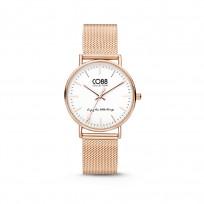 CO88 Horloge staal/mesh 36 mm rosékleurig 8CW-10001  1