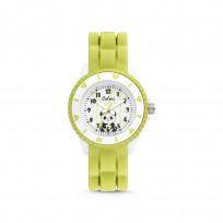 Colori Kidz 5 CLK112 Kinderhorloge met Pandabeer - Siliconen band - Ø 30 mm - Groen  1