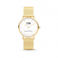 CO88 Collection 8CW 10077 Horloge - Mesh Band - Ø 32 mm - Goudkleurig 1