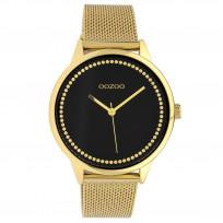 OOZOO C10094 Horloge Timepieces Collection staal rosekleurig 40 mm 1