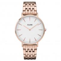 CLUSE CW0101201024 Horloge La Boheme White Rosegold 38 mm 1