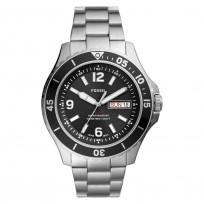 Fossil FS5687 Horloge staal zilverkleurig-zwart 48 mm 1