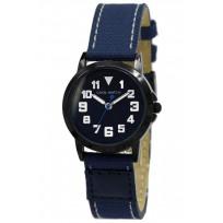 Coolwatch CW.248 kinderhorloge 'Jort' canvas-staal blauw-zwart  1