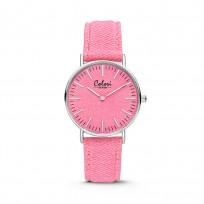 Colori Horloge Denim staal/denim roze 36 mm 5-COL420 1