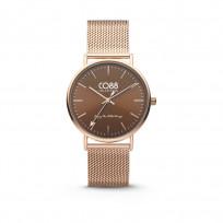 CO88 Horloge staal/mesh 36 mm rosékleurig 8CW-10011 1