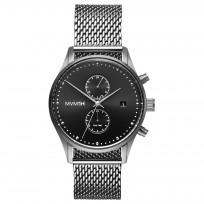 MVMT D-MV01-S2 RVS Zilverkleurig Voyager Horloge 42mm 1