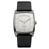Danish Design IQ12Q959 Horloge titanium/leder 1