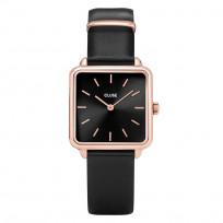 CLUSE CL60007 Horloge La Tetragone rosekleurig-zwart 29 mm 1