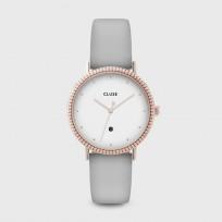 CLUSE CW0101209001 Horloge Le Couronnement rosekleurig-grijs 34 mm 1