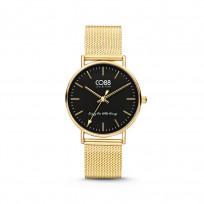 CO88 8CW-10007 Horloge staal/mesh 36 mm goudkleurig  1