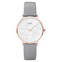 Cluse CL30049 Horloge Minuit La Perle Stone Grey 33 mm 1