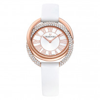 Swarovski 5484385 Dameshorloge Duo rosekleurig-wit 33 mm  1