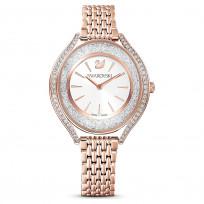 Swarovski 5519459 Horloge Crystalline Aura rosekleurig 35,5 mm  1