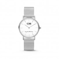 CO88 Collection 8CW 10076 Horloge - Mesh Band - Ø 32 mm - Zilverkleurig 1