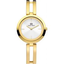 Danish Design IV05Q1088 Horloge goudkleurig 33 mm 1