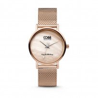 CO88 Collection 8CW-10052 - Horloge - mesh - rosékleurig - ø 32 mm 1