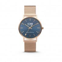 CO88 Horloge staal/mesh 36 mm rosékleurig 8CW-10014 1