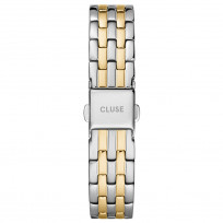 CLUSE CS1401101077 Horlogeband staal zilver- en goudkleurig 16 mm 1