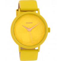 OOZOO C10395 Horloge Timepieces geel 42 mm 1
