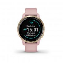 Garmin 010-02172-32 Vivoactive 4S GPS Smartwatch Dust Rose Light Gold 1
