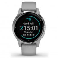 Garmin 010-02172-02 Vivoactive 4S GPS Smartwatch Powder Gray Silver 1
