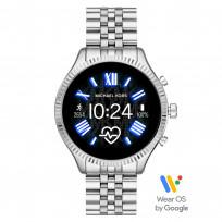 Michael Kors MKT5077 Access Lexington Gen 5 Display Smartwatch zilverkleurig 45 mm 1