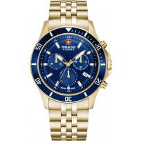 Swiss Military Hanowa 06-5331.02.003 Horloge chronograaf blauwe wijzerplaat 42 mm 1