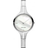 Danish Design IV62Q1202 Horloge zilverkleurig 28 mm 1