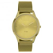 OOZOO C20005 Horloge Vintage mosterdgeel 38 mm  1