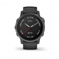 Garmin 010-02159-25 Fenix 6S Multisport GPS Smartwatch, Pulse Ox, carbon en saffierglas 1