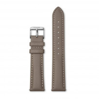 CLUSE CS1408101085 Horlogeband leder taupe-zilverkleurig 18 mm 1