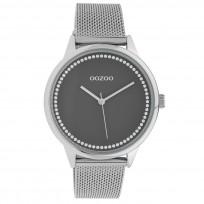 OOZOO C10091 Horloge Timepieces Collection staal zilverkleurig 40 mm 1