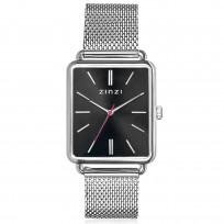 Zinzi ZIW901M Horloge Vintage Retro + gratis armband 34 mm zilverkleurig  1