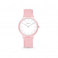 Colori Essentials 5 COL595 Horloge - Siliconen Band - Ø 30 mm - Roze 1