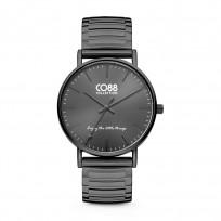 CO88 Collection 8CW-10060 - Horloge - Horloge - mesh band - zwart -  ø 36 mm 1
