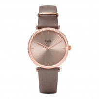 CLUSE CW0101208010 Horloge Triomphe Rosegold Soft Taupe 33 mm 1