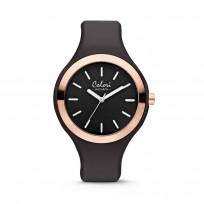 Colori 5-COL429 Horloge Macaron zwart-rosékleurig 44 mm  1